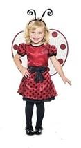 LADYBUG CHILD HALLOWEEN COSTUME TODDLER SIZE LARGE 3T-4T - $23.02