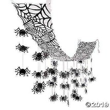 12' x 12' hanging ceiling SPIDERS HALLOWEEN Party Decoration haunted house - $12.86