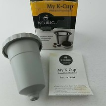Keurig My K-Cup Reusable Coffee Filter With Box & Manual - $10.85