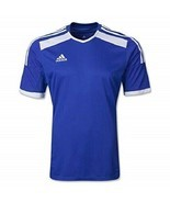 Adidas Youth/Men's Climacool Regista 14 Soccer Jersey Cobalt/White Size ... - $39.60
