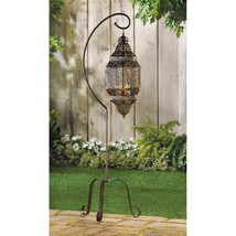 MOROCCAN CANDLE LANTERN STAND - $39.55