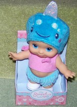 """My Sweet Love Animal Friend Mini Baby Doll 5.5""""H in Narwhal Hat NWT - $8.88"""