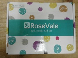 RoseVale Bath Bombs Gift Set by RoseMyst NEW OPEN BOX - $27.61