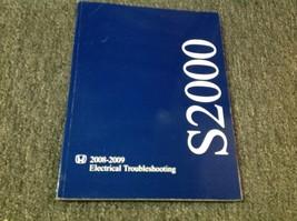 2008 2009 Honda S2000 Elettrico Cablaggio Diagramma IN Manuale Etm OEM - $12.84