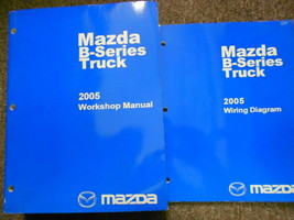 2005 Mazda B-Series Truck Service Repair Shop Manual SET FACTORY OEM BOO... - $34.52