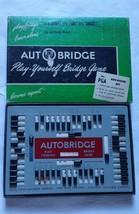 Vintage Autobridge Play Yourself Bridge Game Advanced PGA Set 1950s Mid-... - $12.19