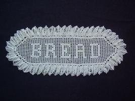 Vintage - BREAD Doilie - $8.00