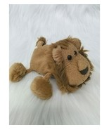"6"" Russ Luv Pets Lion Zimba Brown Tan Mini Beanbag Chamois Plush Toy Ber... - $9.97"