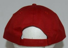 OC Sports Official License of MLB OSFM Style 808 Dark Red Adjustable image 4