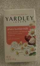 Yardley London Bar Soap, 4.25 oz, sensitive skin, Shea Buttermilk with Chamomile - $5.70
