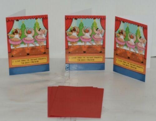Hallmark ZX 116-2 Butt Cracker Christmas Card Package 3