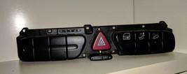 2001 Mercedes C240 Hazard Blinker Door Lock Headrest Control Switch (#3115) - $15.00