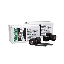 Mueller Tear Light Tape Black 7.5 yd 3'' x16 Rolls - $75.25