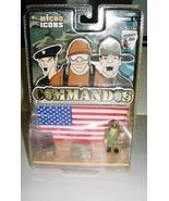 Micro Icons Commandos Series 1 Patriotic Platform New - $4.89