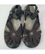 KEEN Womens Black Strappy Sport Rose Sandals Size US 8 EU 38.5 Anti-odor Footbed - $59.38