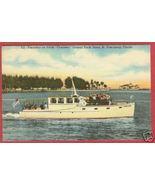 St Petersburg FL Yacht Charlene Central Postcard BJs - $7.50