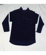Skyr Size S (8-10) Boys Dark Blue and Gray Fleece Shirt - $9.99
