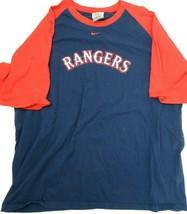 Texas Rangers Nike MLB Baseball Men's T-Shirt Size 2XL - $19.79