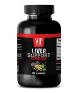 anti inflammatory pill - LIVER COMPLEX 1200MG - milk thistle capsules - 1 Bottle - $15.85