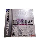 Final Fantasy V Brand New Sealed Game Boy Advance Game * Nintendo GBA - $49.88