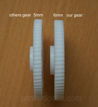 Improved Nylon plastic gear for Hunt Boston model 17 electric pencil sha... - $0.99
