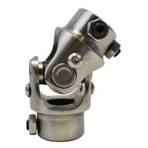 "Stainless Steel Yokes Steering Shaft Universal U-Joint 3/4"" 36 Spline To 3/4"" DD image 5"