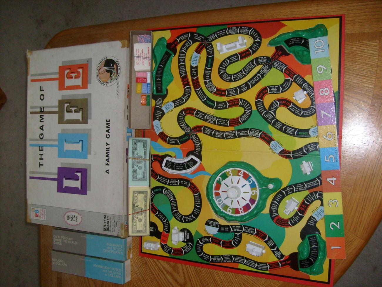 Vintage 1960's Bridge It Board Game  1960 Board Games List