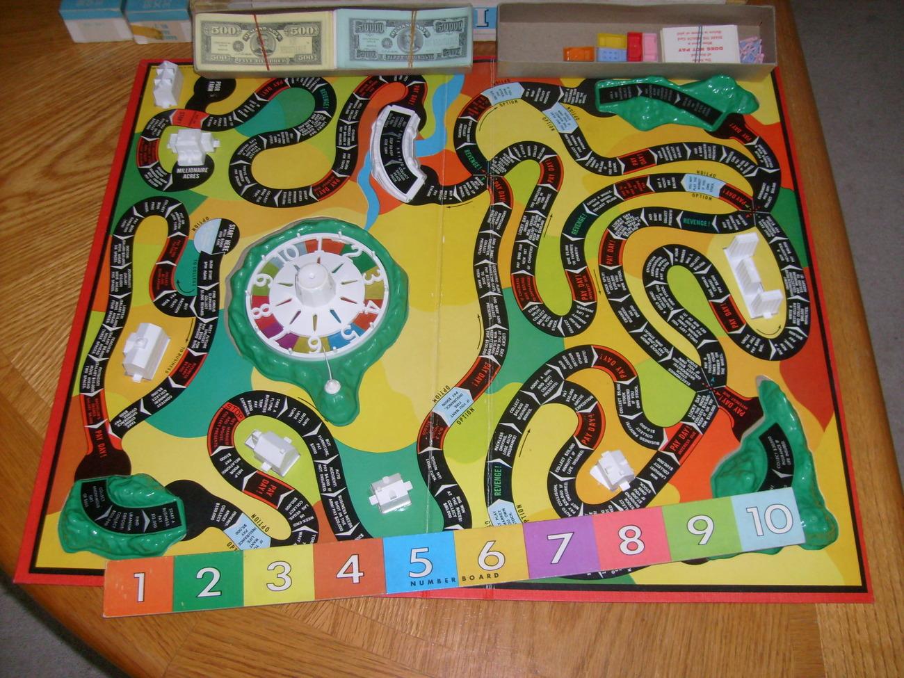 Vintage Game Board 1960 Clue  1960 Board Games List