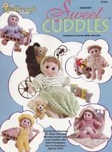 Sweet Cuddles, Needlecraft Shop Crochet Doll & Wardrobe Pattern Booklet ... - $18.95