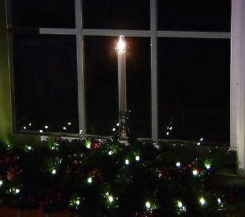 bethlehem lights set of 4 battery op window candles brushed bronze. Black Bedroom Furniture Sets. Home Design Ideas
