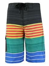 Men's Board Shorts Sport Beach Swimwear Bathing Suit Slim Fit Trunks image 4