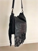 FRINGE BAG handamde leather bag  image 7