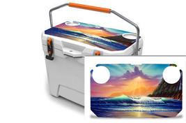 "Ozark Trail Wrap ""Fits 26qt Cooler"" 24mil Skin Lid Kit Island Sunrise - $29.95"
