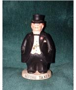 VINTAGE BEFORE & AFTER TAXES 2 SIDED BANK - $30.00