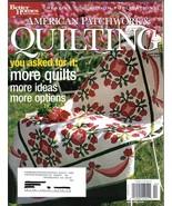 BH&G American Patchwork & Quilting Magazine Apr 2004 #67 - $7.99