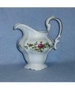 Johann Haviland Moss Rose Creamer 8 ounce  Gold Trim - $9.99