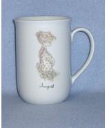 Enesco Precious Moments August Cup Mug 1984 - $4.99