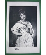 ITALIAN MAIDEN Lovely Rosina - VICTORIAN Antique Print - $18.90