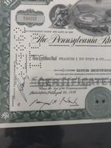 pennsylvania railroad Company Share Certificate - $15.90