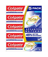 Colgate Total SF Stannous Flouride Advanced Whitening Toothpaste 5-pack 6.4oz ea - $9.99