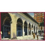 ST PETERSBURG FLORIDA US Post Office Linen PO FL - $6.50