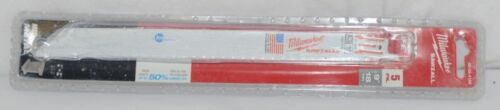 Milwaukee 48004188 Sawzall Blade 5 Pack 9 Inch New In Pacakge