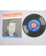 The Voice of President John F. Kennedy 45 RPM Record  - $19.99