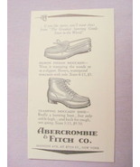 1941 Moccasins Ad Abercrombie & Fitch Co., New York - $7.99