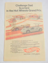 1969 Ad Mattel Hot Wheels Grand Prix Set - $7.99