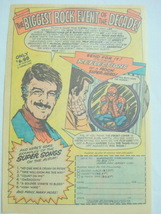 1976 Ad Spider-Man Record Reflections of a Super-Hero - $7.99