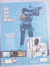 2002 Ad Tom Clancy's Rainbow Six Rogue Spear - $7.99