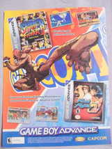 2002 Ad Super Street Fighter II & Final Fight One - $7.99