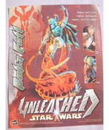 2003 Ad Bobba Fett Unleashed Star Wars by Hasbro - $7.99