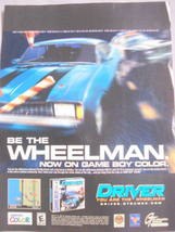 """2000 Ad Video Game Driver """"Be The Wheelman"""" - $7.99"""